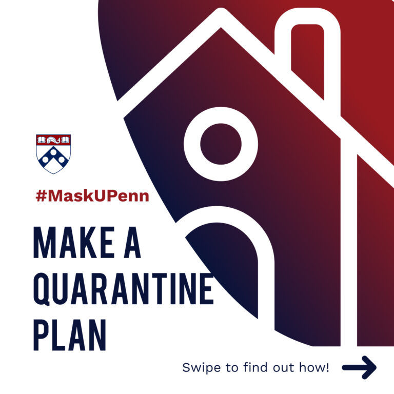 Make a Quarantine Plan