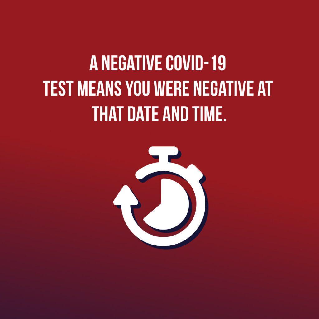 Negative Covid Test
