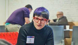 Erin Cross, director of Penn's LGBT Center